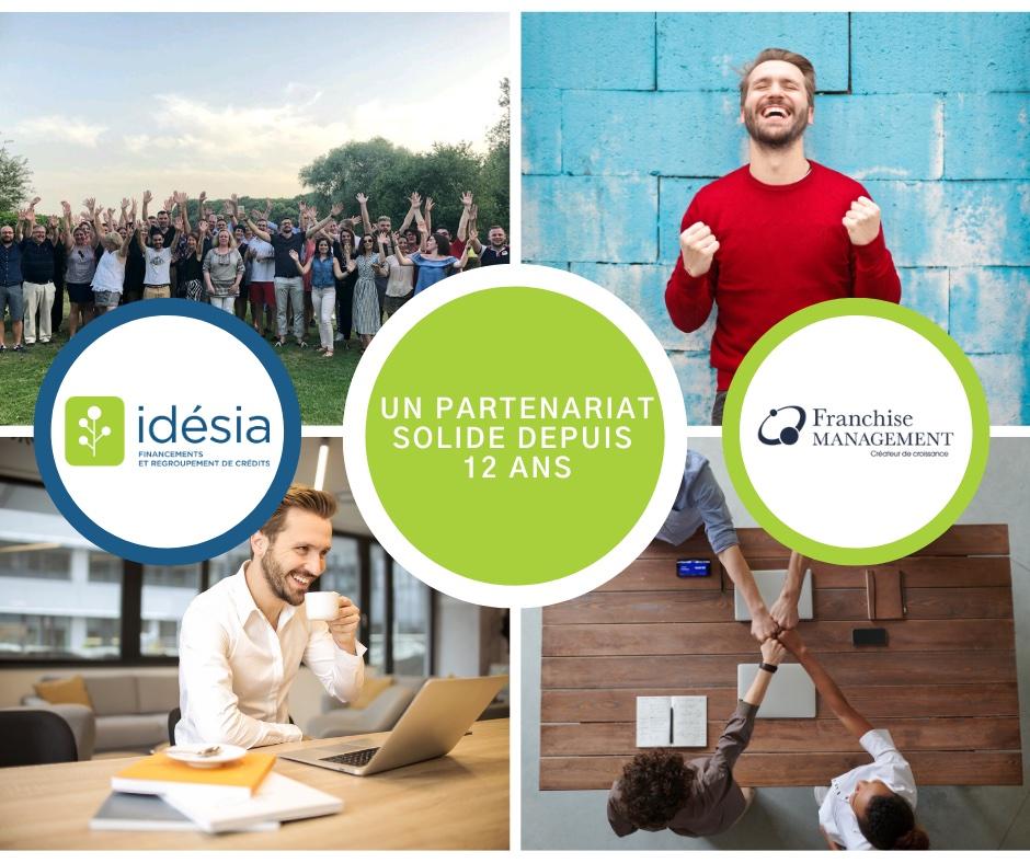 Franchise Management partenaire de Idésia depuis 12 ans